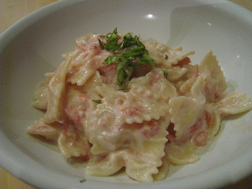 Pates à la tomate et ricotta 02