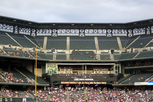 Denver - LoDo: Coors Field - One Mile Elevation Point