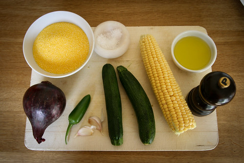 Midsummer Vegetable Burger Ingredients