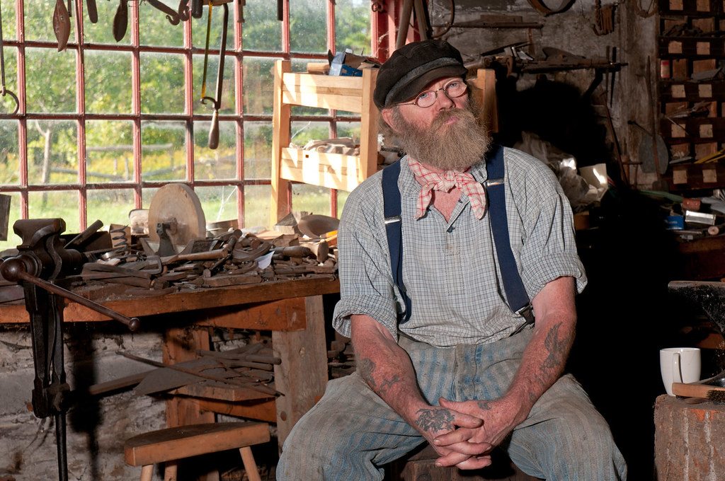 Blacksmith's shop, Upper Canada Village (4)