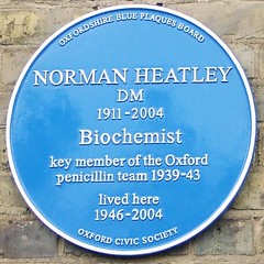 Photo of Norman Heatley blue plaque