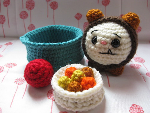 The Incredibly Hungry and Sleepy Puppy Play Set - Amigurumi Pattern