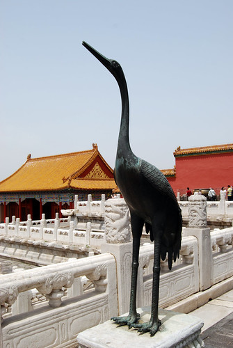r23 - Crane at Hall of Supreme Harmony