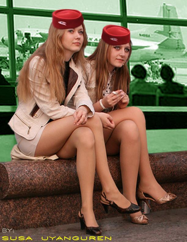Erotic flight attendants