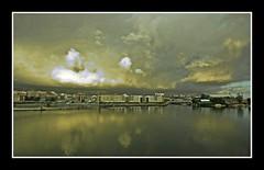 Fantasy Storm (Asi75er) Tags: travel summer storm nature clouds photoshop canon eos europe bilbao elements nubes tormenta bizkaia basque euskalherria euskadi vizcaya bilbo basquecountry paisvasco photoshopelements erandio 400d canoneos400d