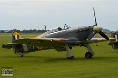 G-BKTH - Z7015 - CCF 41H 4013 - Private - Hawker Sea Hurricane Mk1B - Duxford - 100905 - Steven Gray - IMG_5942