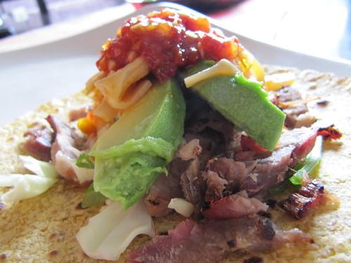 Cha Siu tacos