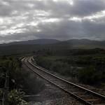 Railway line at Loch Achanalt thumbnail