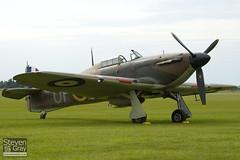 G-HUPW - R4118 - G5-92301 - Private - Hawker Hurricane Mk1 - Duxford - 100905 - Steven Gray - IMG_5934