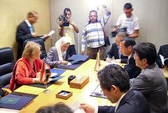 アブルナガ国際協力大臣と会談