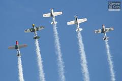 Aerostars Team - Yakovlev Yak-50 - Duxford - 100905 - Steven Gray - IMG_7953