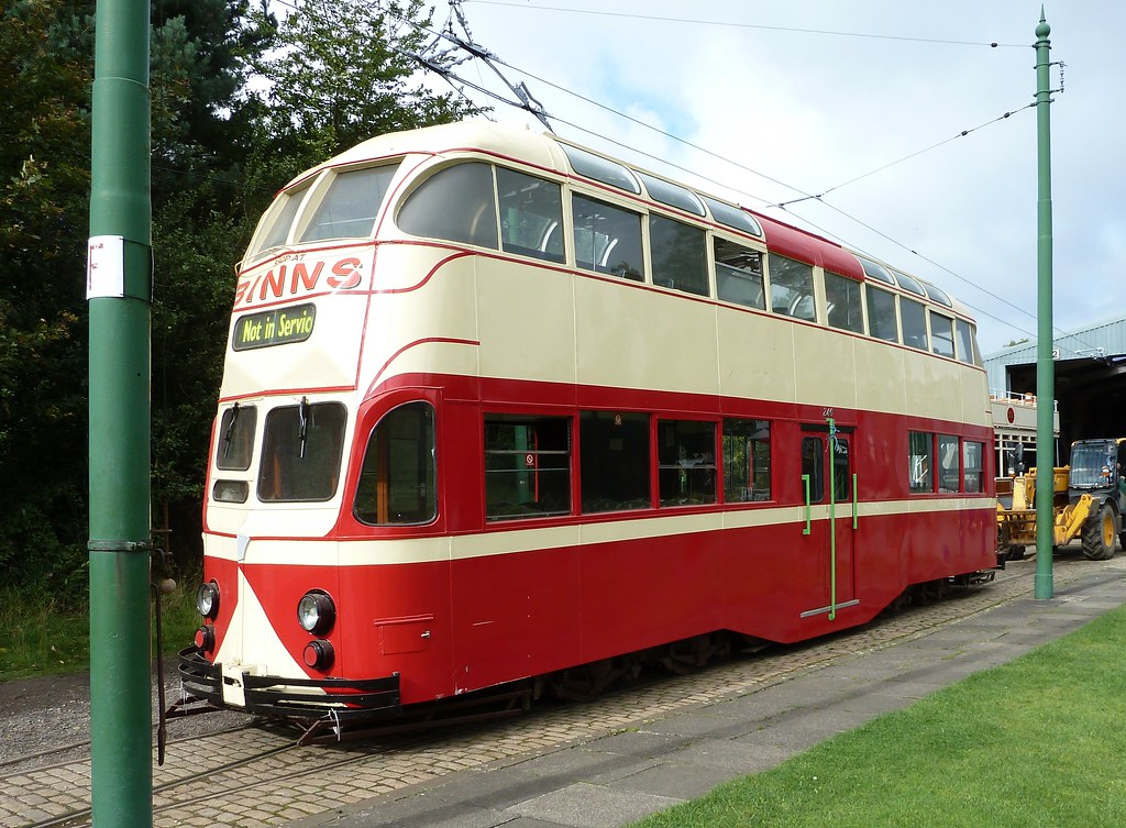 English Electric Balloon Tram Sunderland 101
