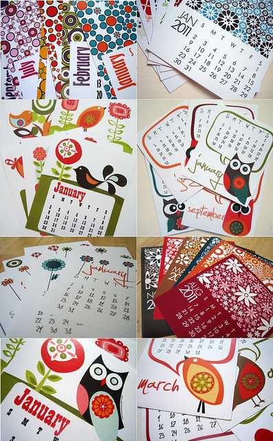 2011 Printable Calendars