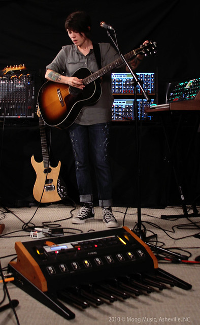 Tegan @ Moog Sound Lab
