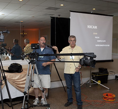 Art Tollefson showing off the Kessler Jib