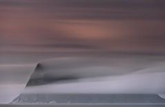 Norway | Summer Island | Hja (Reed Ingram Weir) Tags: longexposure pink sunset sea cloud mountain abstract norway island low explore frontpage hja longlens summerisland d700 sammaroy reedingramweir riwp sammary