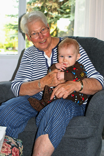 Great-Grandma & Braden