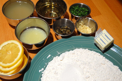 Chicken Piccata Ingredients