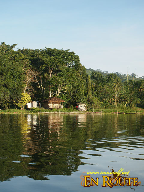A house by the lake at Lake Sebu