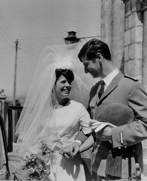 Mom and Dad - 31st August 1966
