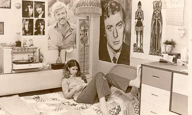 1970s Dorm Room