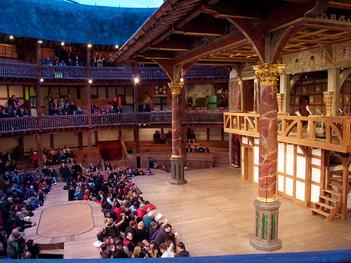 Globe Theatre Stage