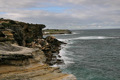 (Anjali Chandhok) Tags: ocean cliff seascape beach waves sydney coogee seaface