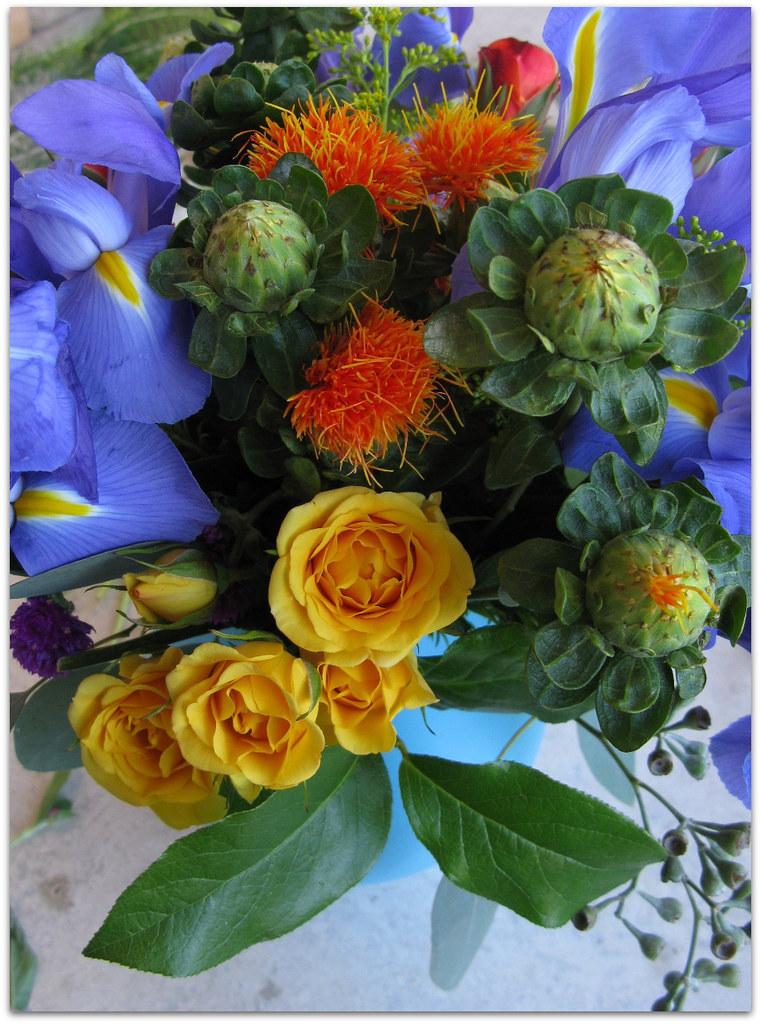 byw floral arrangement