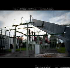 "week36:barbed wire fance <a style=""margin-left:10px; font-size:0.8em;"" href=""http://www.flickr.com/photos/42507060@N08/5004054842/"" target=""_blank"">@flickr</a>"