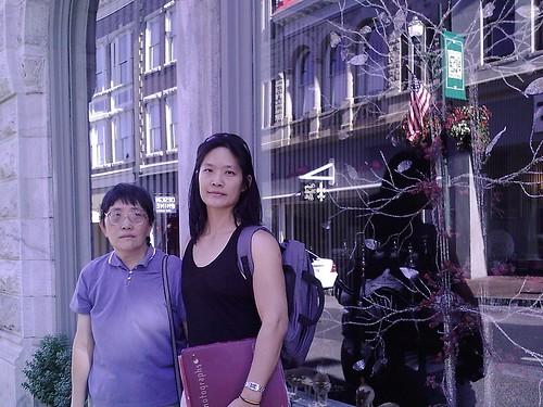 20100906 Mom & Elaine