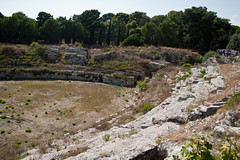 Roman Amphitheatre 11 (Davide Simonetti) Tags: italy syracuse sicily siracusa ancientruins romanamphitheatre anfiteatroromano
