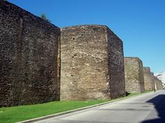 Lugo. Murallas Romanas