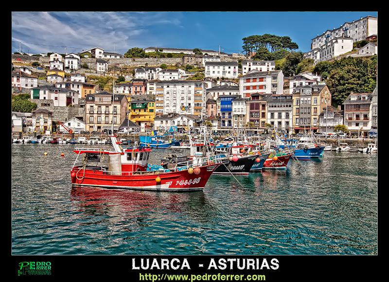 Luarca - Puerto pesquero