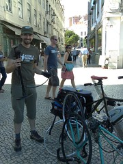 A estreia do Bicycle Repair Man!
