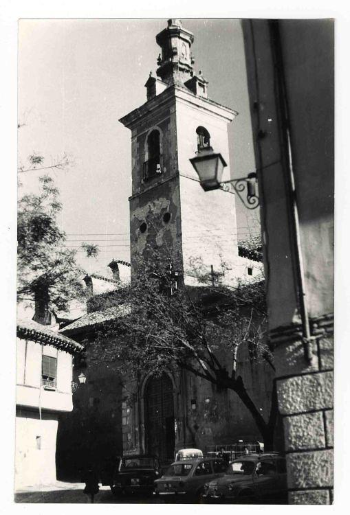 Iglesia de San Justo hacia 1970. Colección Luis Alba. Ayuntamiento de Toledo