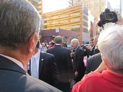 (Former) President Bill Clinton (stephk) Tags: nyc timessquare billclinton lateshowwithdavidletterman dreamscomingtrue stalkingpublicfigures