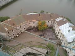 Вид на двор крепости
