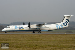 G-JEDN - 4078 - FlyBe - De Havilland Canada DHC-8-402Q Dash 8 - Luton - 100121 - Steven Gray - IMG_6519