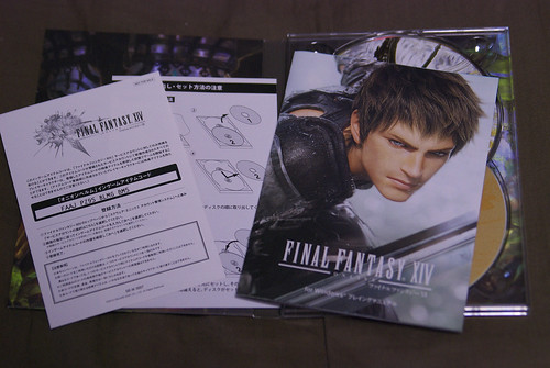 FINAL FANTASY XIV Collector's Edition Manuals