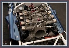 Scarab Rear Engine F-1 Olds (C.A.J.) Tags: blue car vintage engine f1 racing historic formulaone oldsmobile scarab rearengine