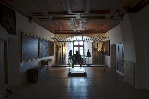 Waffenkammer in der Waldburg