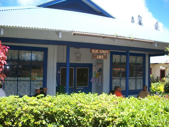 Blue Ginger Cafe on Lānaʻi (Landlopers)