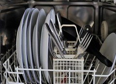 dishes dishwasher
