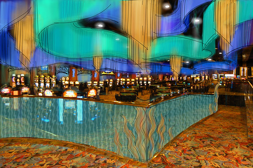 Casino Sketch | Interior Casino Decor Design | Crystal Palace Casino