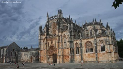 Vista principal do Mosteiro da Batalha