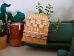 Embalagem dos palitinhos