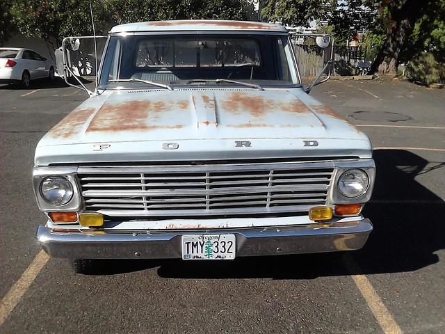ford 1969 cab 360 special custom camper c6 f250