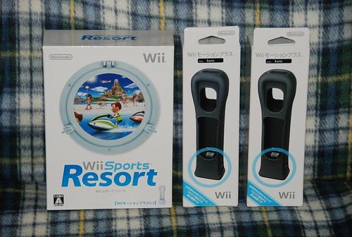 Wii Sports Resort + Wii モーションプラス kuro