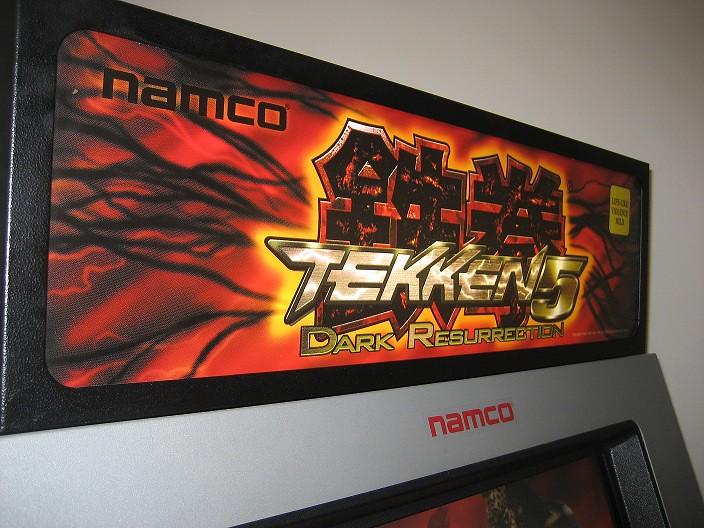 Tekken 5 Dark Resurrection Arcade Machine - S2KI Honda ...