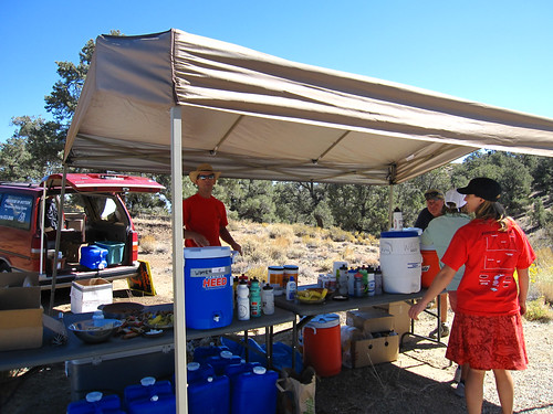 White Mtn Aid Station (elev. 8000ft)